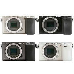 Sony Alpha a6000 Mirrorless 24.3MP Digital Camera Black Whit