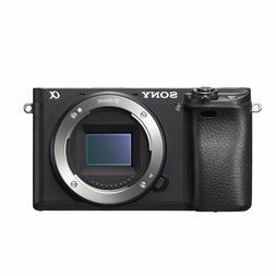 S0ny Alpha A6300 Body Only Digital Mirrorless Cameras - Blac
