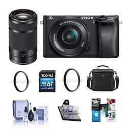Sony Alpha a6300 Mirrorless Digital Camera Black Body with 1