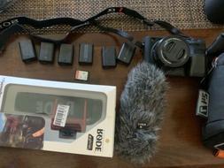 Sony Alpha a6300 Mirrorless Camera Black w/16-50mm Lens w/Ac