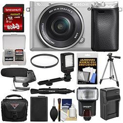 Sony Alpha A6300 4K Wi-Fi Digital Camera & 16-50mm Lens  wit