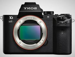 Sony Alpha A7 II 24.3MP Mirrorless Full Frame Digital Camera
