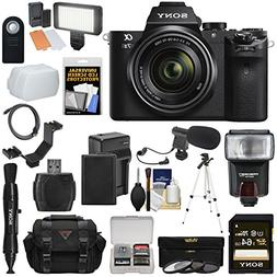 Sony Alpha A7 II Digital Camera & 28-70mm FE OSS Lens with 6