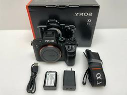 Sony - Alpha a7 II Full-Frame Mirrorless Video Camera  - Bla