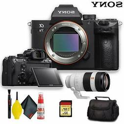 Sony Alpha a7 III Mirrorless Digital Camera with 100-400mm L