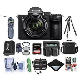 Sony Alpha a7 III 24MP UHD 4K Mirrorless Digital Camera with