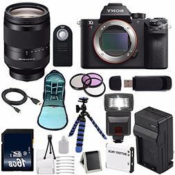 Sony Alpha a7R II Mirrorless Digital Camera FE 24-240mm f/3.