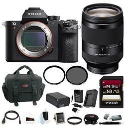 Sony Alpha a7RII Mirrorless Digital Camera Body with 24-240m