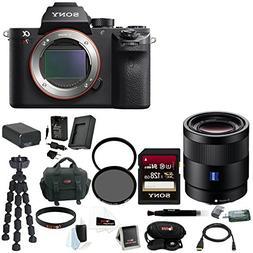 Sony Alpha a7RII Mirrorless Digital Camera 55mm f/1.8 Lens 1