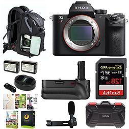 Sony Alpha a7RII Mirrorless Digital Camera  w/128GB SD Card