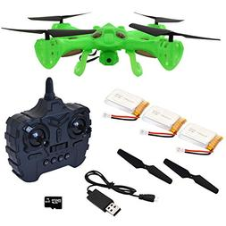 Hover-Way 2.4 GHZ Alpha Drone with 480P Video Camera & 8 GB