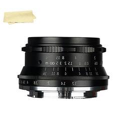 7artisans 35mm F1.2 Large Aperture Prime APS-C Manual Focus