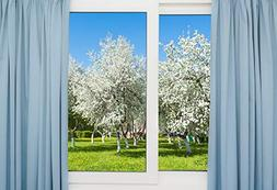 Yeele Backdrops 10x8ft /3 X 2.4M Open The Window Lawn with V