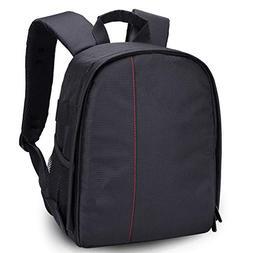 LIUYIJIE Small Camera Bag Multifunction Camera Backpack 11.8