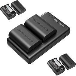 6-Pack 2000mAh Camera Batteries LP-E6 LP-E6N RAVPower Rechar