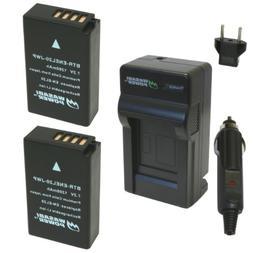 Wasabi Power Battery  and Charger for Nikon EN-EL20, Nikon E