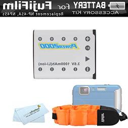 Battery Kit For Fujifilm FinePix XP70, XP80, XP90, XP120 Wat