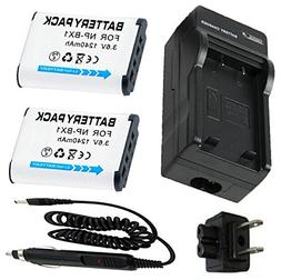 Battery  + Charger for Sony NP-BX1 Lithum Ion X Type 3.6V, 1