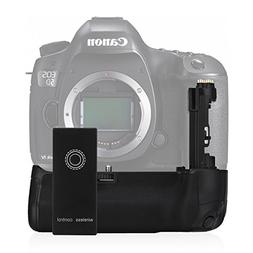 Powerextra 2.4GHz BG-E20 Battery Grip Replacement for Canon
