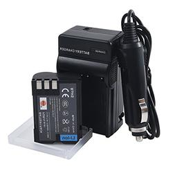DSTE BLM-1 Battery + DC11 Travel and Car Charger Adapter for