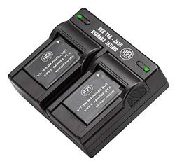 BM Premium 2 Pack Of NB-11L, NB-11LH Batteries and Dual Batt
