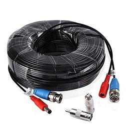 BULWARK 100ft BNC Video Power Cable Security Camera Wire Cor