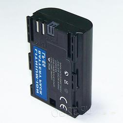 Brand New 2000mAh 7.2V LP-E6 LP-E6N Battery for Canon EOS 6D