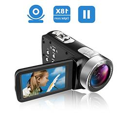 Camcorder Video Camera Full HD 24.0MP Camcorders Digital Cam