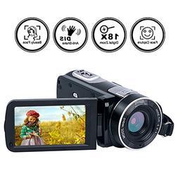 Video Camera Camcorder Full HD Digital Camera 1080p 24.0MP N