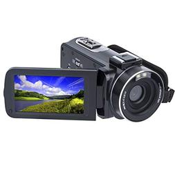 Video Camera Camcorder SOSUN HD 1080P 24.0MP 3.0 Inch LCD 27