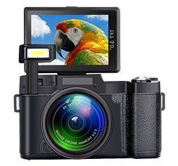 Digital Camera SEREE Camcorder Full HD 1080P 24.0 Megapixels