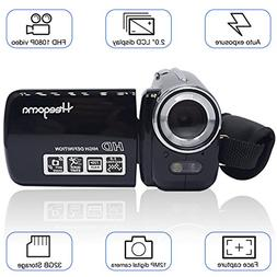 Heegomn Digital Video Camcorder, FHD 1080P 1920x1080 Video C