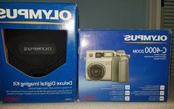 Olympus Camedia C-4000 Zoom Digital Camera + Olympus Deluxe