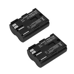 2 Pack Masione 7.4V 1400mAh Canon BP-511 Replacement Battery