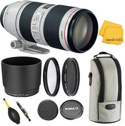 CANON EF 70-200MM f/2.8L IS II USM TELEPHOTO ZOOM LENS WITH