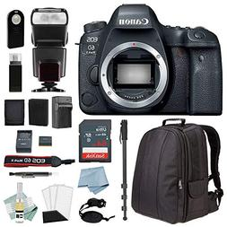 Canon EOS 6D Mark II DSLR Body Only Camera Accessory Bundle