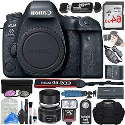 Canon EOS 6D Mark II Digital SLR Camera Body  + ULTIMATE PRO