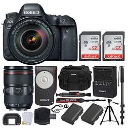 Canon EOS 6D Mark II DSLR Full Frame Camera + EF 24-105mm f/