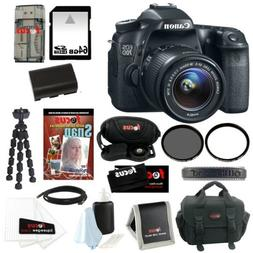 Canon EOS 70D 20.2MP DSLR Camera with 18-55mm IS STM Lens an