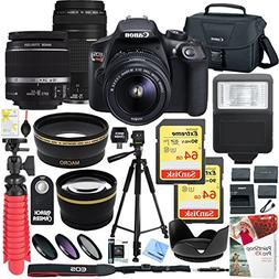 canon eos rebel dslr camera ef s 18 55mm f 35 56 75 300mm f