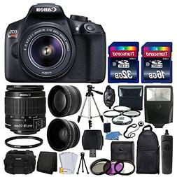 Canon EOS Rebel T6 Digital SLR Camera & 18-55mm EF-S f/3.5-5