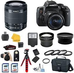 Canon EOS Rebel T6i DSLR Camera with EF-S 18-55mm IS STM Len