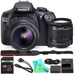 Canon EOS T6 / 1300D with EF-S 18-55mm 18.7MP CMOS 5184 x 34
