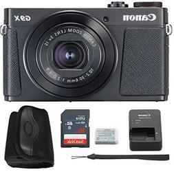 Canon G9x Mark II Digital Camera Bundle  + Canon PowerShot G
