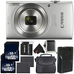 Canon PowerShot ELPH 180 Digital Camera  1093C001  + Sandisk