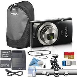 Canon PowerShot ELPH 180/IXUS 185 Digital Camera Bundle