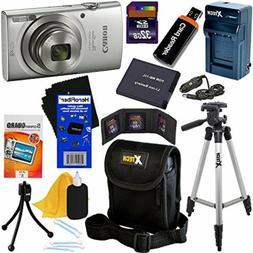 Canon PowerShot ELPH 180 Digital Camera w/ Image Stabilizati