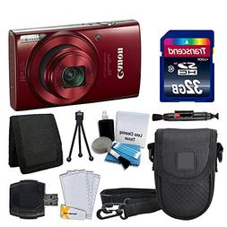 Canon PowerShot ELPH 190 is Digital Camera  + Transcend 32GB
