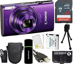 Canon PowerShot ELPH 360 HS 20.2MP 12x Zoom Full-HD 1080p W