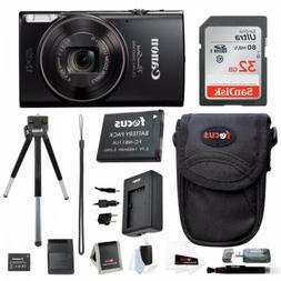 Canon PowerShot ELPH 360 HS Digital Camera w/ 32GB SD Card &